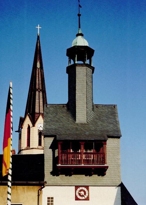 Schieferdeckung COLORSKLENT Saigerturm